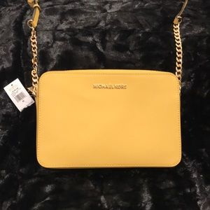 Michael Kors Crossbody. New With Tags. Yellow